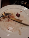 I couldn't eat another bite! HAHAHA! That is a lie and of course I ate every bit.