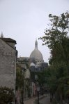 My first glimpse of Sacre-Coeur