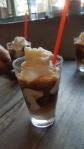 Frozen coconut coffee