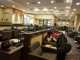 Singapore Lounge SFO