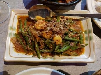 Long beans sambal