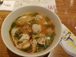 Fishball soup