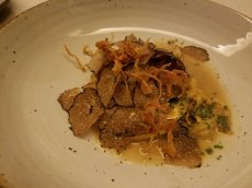 Spätzle with truffles