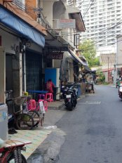Alley by the hotel