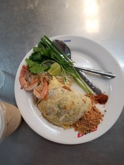 Pad Thai at Or Tor Kor