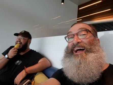 Lounging at DAD airport