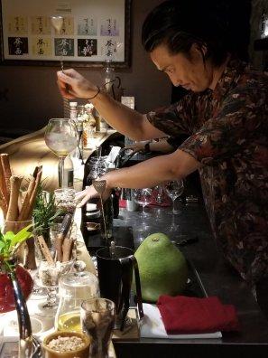Bartender at Salon du Japonisant