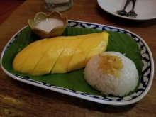 Mango - sticky rice